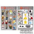 LEGO – Minifigures Series 9 Collectable Leaflet