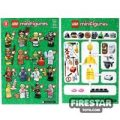 LEGO – Minifigures Series 11 Collectable Leaflet