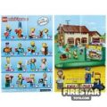 LEGO – The Simpsons Minifigures 2 Collectable Leaflet
