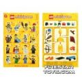 LEGO – Minifigures Series 1 Collectable Leaflet